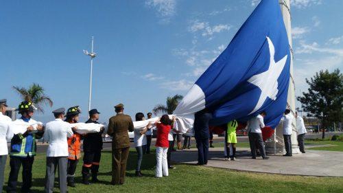 Bomberos participa de las actividades del 139º aniversario del desembarco de las tropas chilenas en Antofagasta