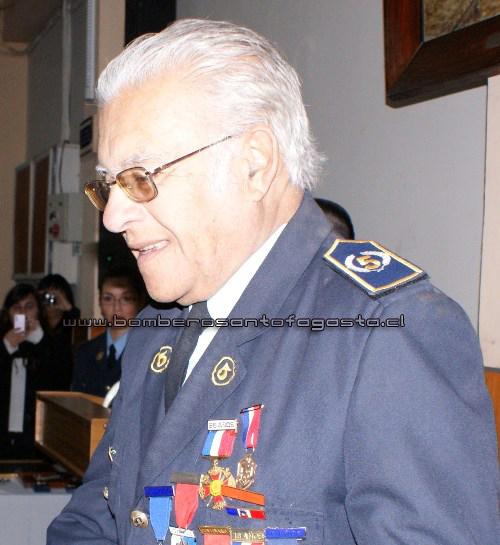 Fallece Capitán Honorario de 5ta Compañía y Bombero Honorario del Cuerpo de Bomberos de Antofagasta