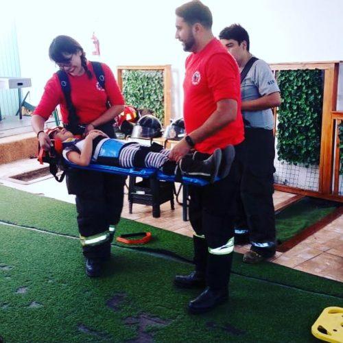 Primera compañía de Bomberos de Antofagasta realizó cursos de primeros auxilios