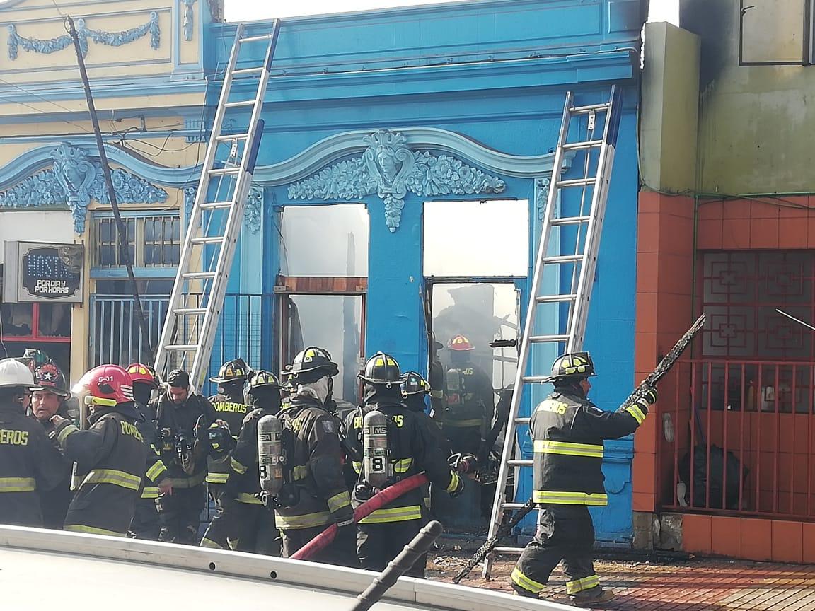 Quiero ser un bombero (a) de Antofagasta