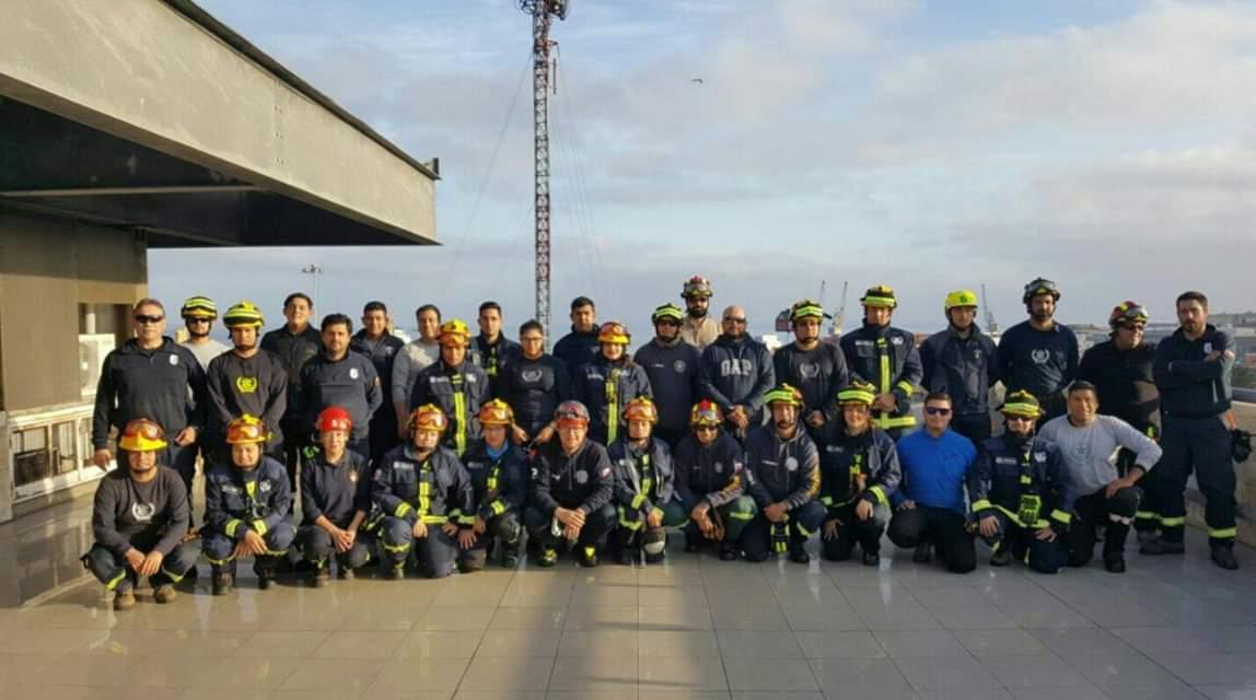 Segunda Compañía acreditó especialidad de Rescate Urbano