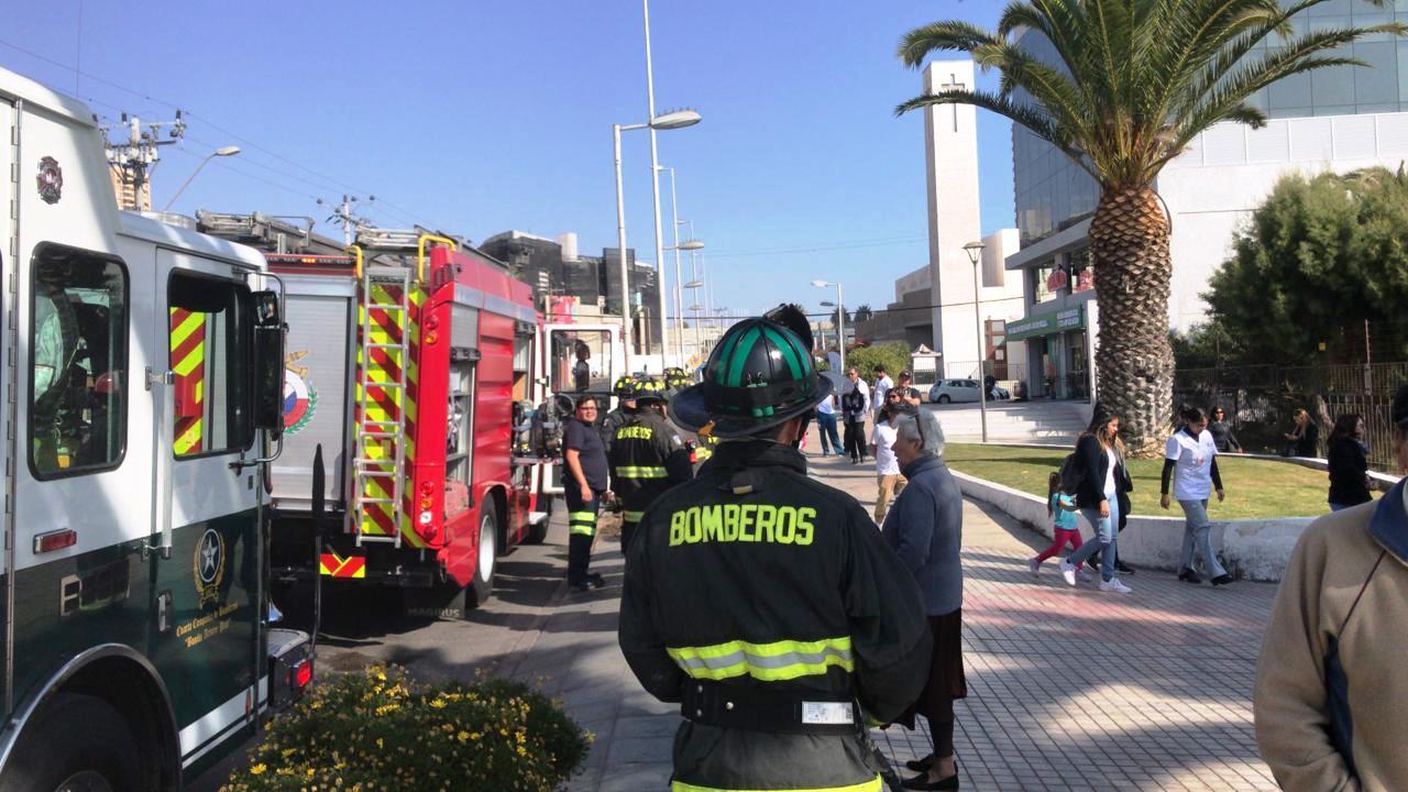 Bomberos Antofagasta realizó simulacro de incendio en Instituto Teletón